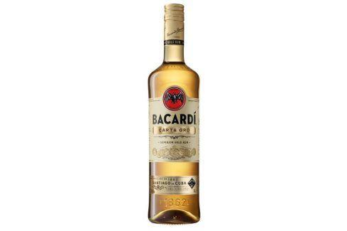 Bacardi Carta Oro 37,5% 1l Kuba