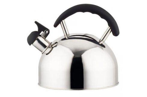 TORO Nerezová konvice na čaj 2 l s černou plastovou rukojetí Dům a zahrada » Domácnost » Kuchyně » Stolování » Čajníky