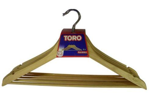 TORO Ramínko na šaty set 6 ks, 44,5 x 23 x 1 cm