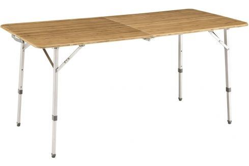 Vystavený stůl Outwell Custer XL Barva: hnědá/stříbrná Rozbalené / vystavené zboží