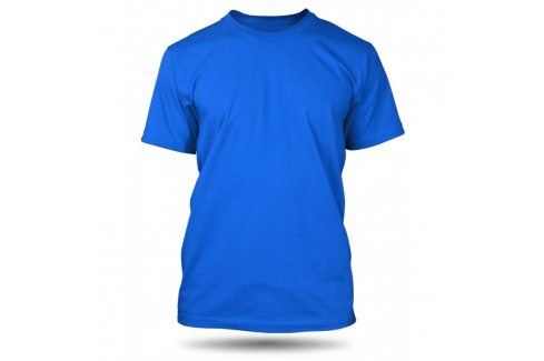 Pánské tričko Royal Blue bez potisku, Velikost trička M Pánská kolekce