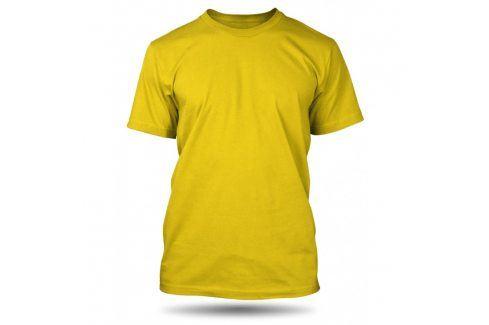 Pánské tričko Žluté bez potisku, Velikost trička M Pánská kolekce