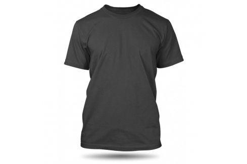 Pánské tričko Anthracite bez potisku, Velikost trička M Pánská kolekce