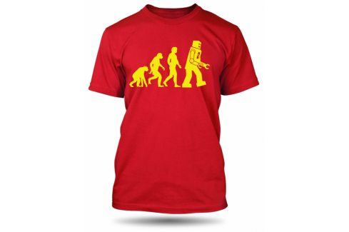 Pánské tričko Robot Evolution, Velikost trička M