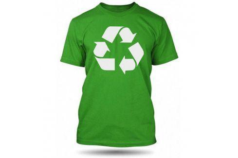 Pánské tričko Recycle, Velikost trička M